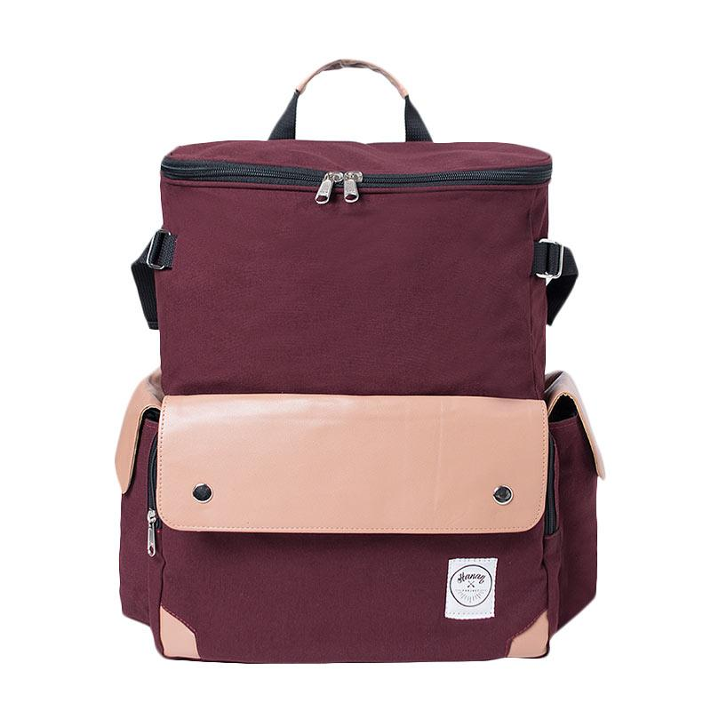 Hanan Project Bole Backpack - Maroon