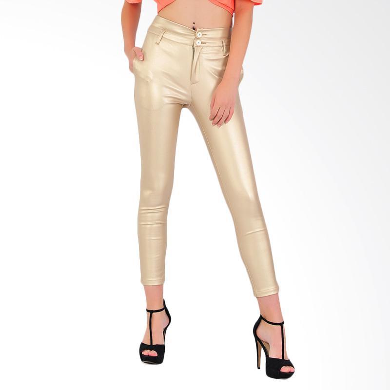 Sjo & Simpaply Cesena Skin Women's Legging - Gold