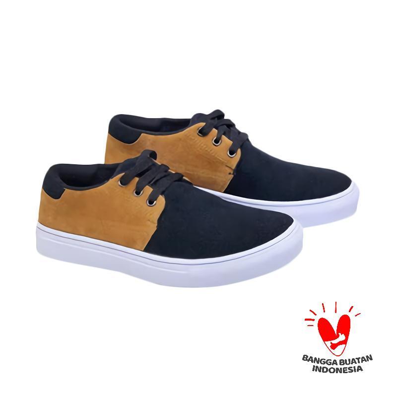 Spiccato SP 528.10 Sepatu Casual Pria - Black