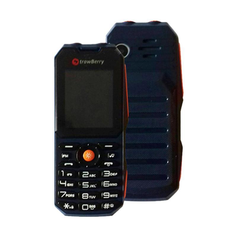 Strawberry Militer Handphone - HIJAU
