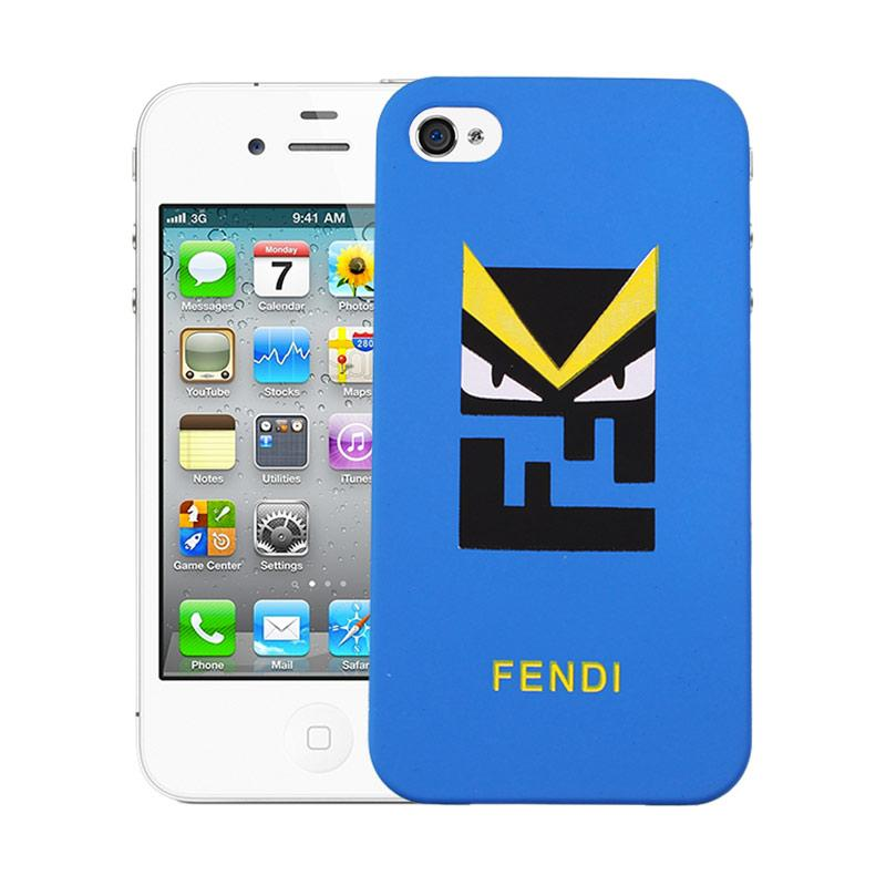 Fendi Givenchy C99 Hardcase Casing for iPhone 4