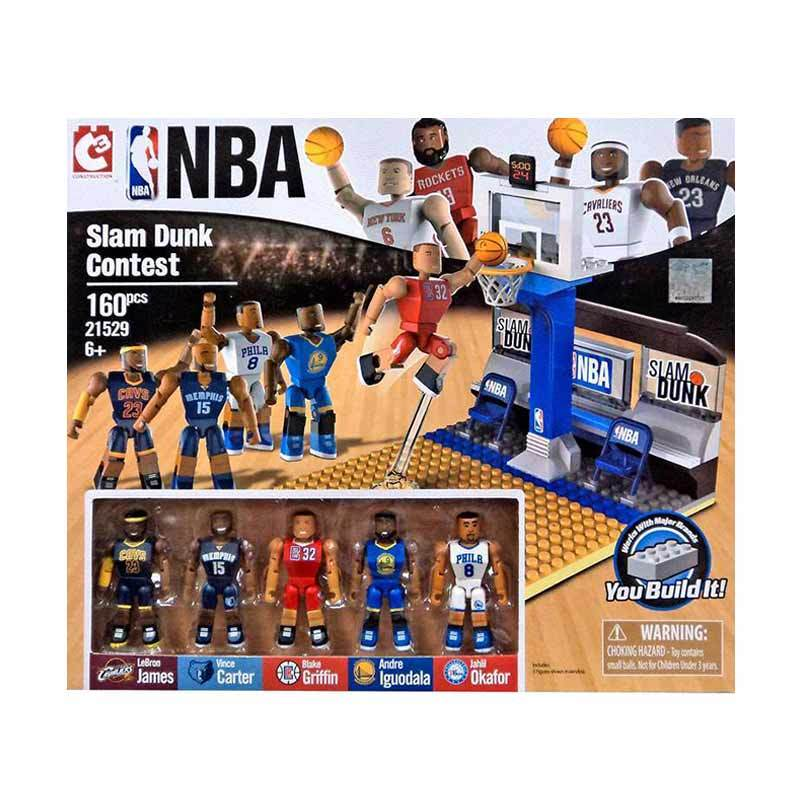 Rekomendasi Seller - C3 NBA Slamdunk Contest Playset Blocks & Stacking Toys