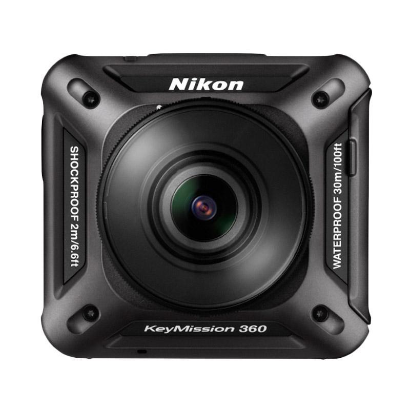 Nikon KeyMission 360 4K Action Camera - Hitam
