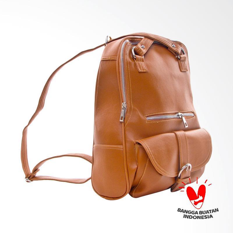 Spek Harga Salvora Backpack SV11 Tas wanita - Coklat Terbaru