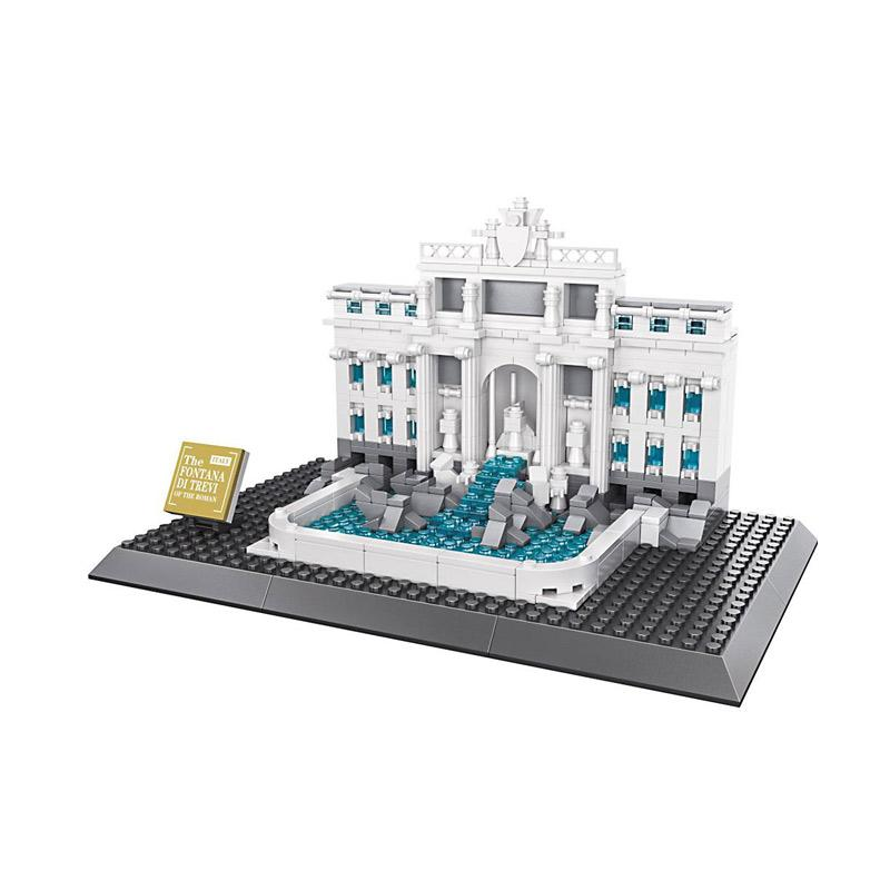 Wange 7014 Fontana Di Trevi Roman Mini Blocks