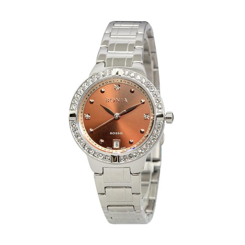 Bonia BN10307-2347S Jam Tangan Wanita Silver Stainless Steel