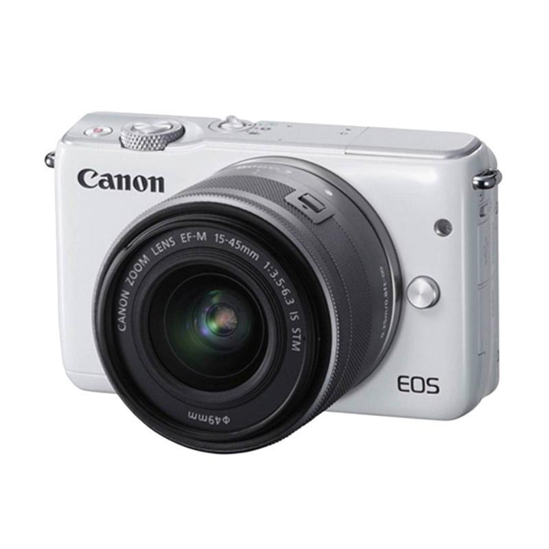 Canon EOS M10 Kit EF-M15-45mm Kamera Mirrorless