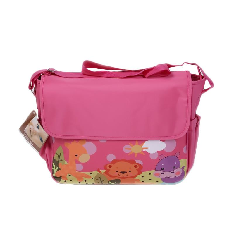 Chloebaby Shop S190 Tas Animal Diaper Bag - Pink