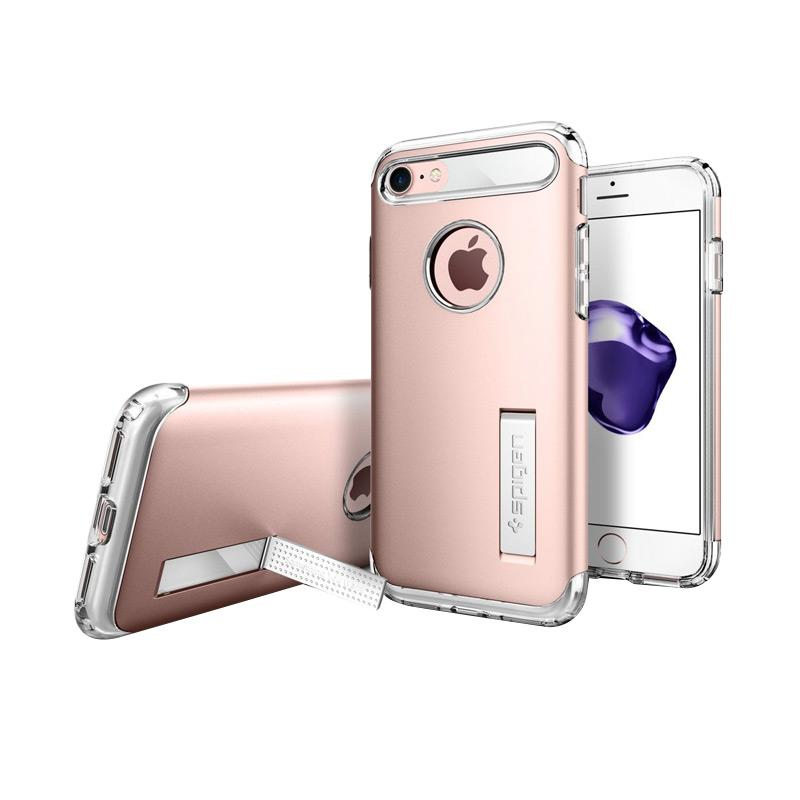 Spigen Slim Armor Casing for iPhone 7 Plus - Rose Gold