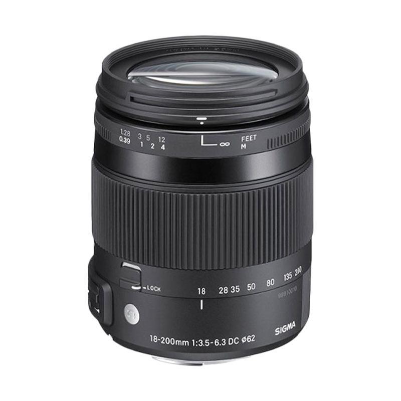 Sigma Lens 18-200mm f/3.5-6.3 DC Macro OS HSM u/ Canon (C)