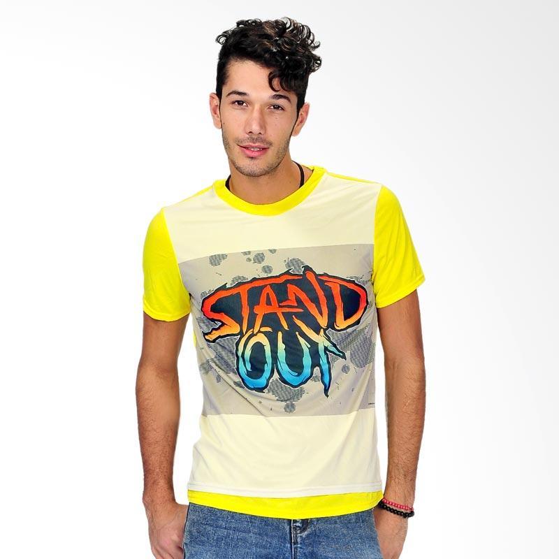 SJO & SIMPAPLY Stuckle Men's T-Shirt - Yellow Extra diskon 7% setiap hari Extra diskon 5% setiap hari Citibank – lebih hemat 10%