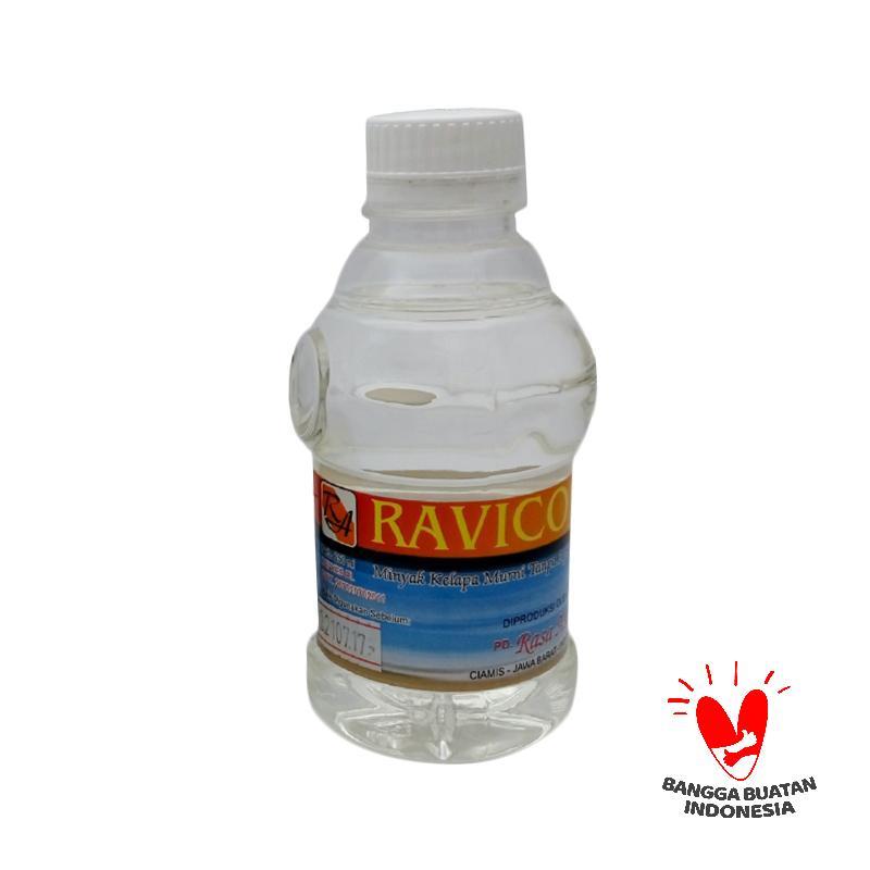 Herbal Virgin Coconut Oil Ravico VCO 250 mL