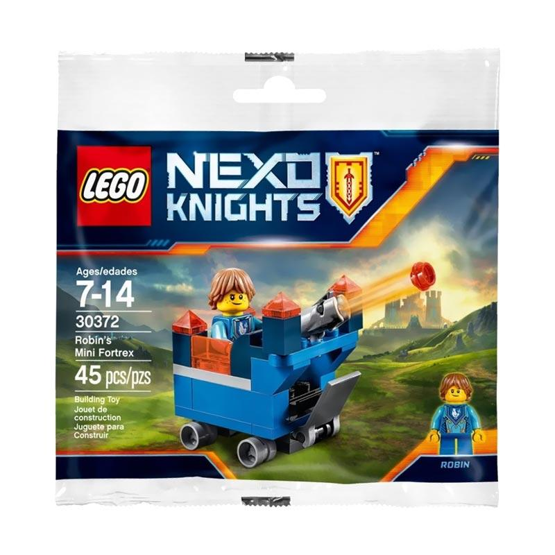 LEGO 30372 NEXO Knights Robin's Mini Fortrex Mainan Blocks dan Puzzle