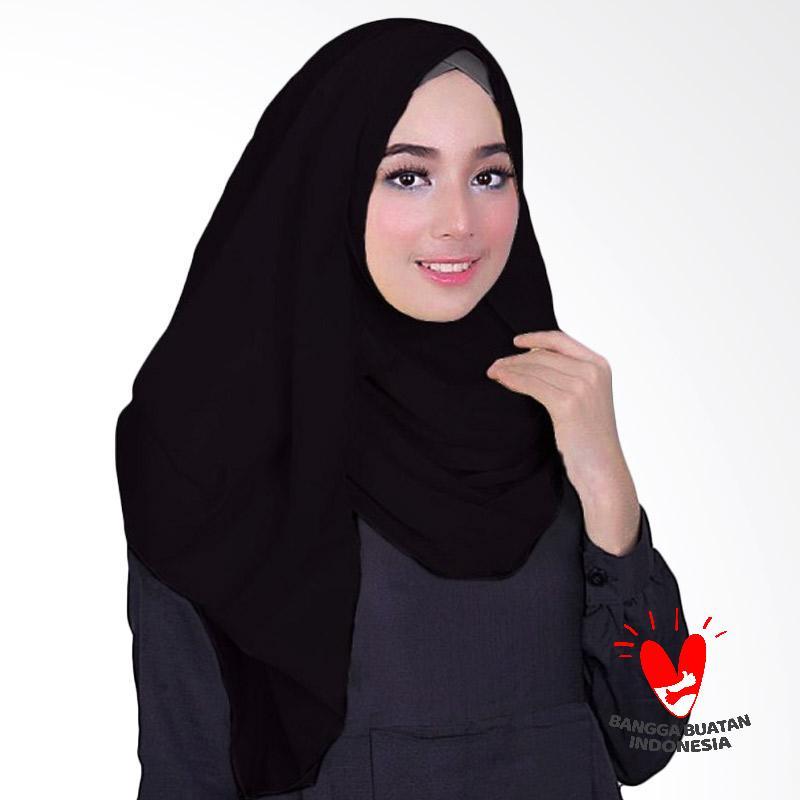Milyarda Hijab Fusia Jilbab Instant - Black
