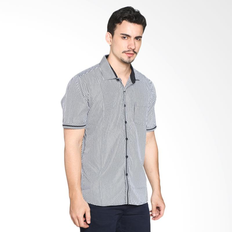 Red Cliff ZB1868JF Smart Casual Shirt - Black Extra diskon 7% setiap hari Extra diskon 5% setiap hari Citibank – lebih hemat 10%
