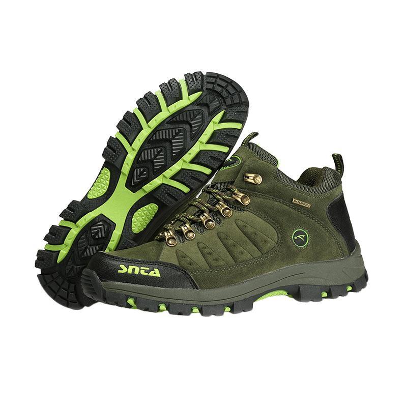 Snta 470 waterproof Sepatu Gunung - Green