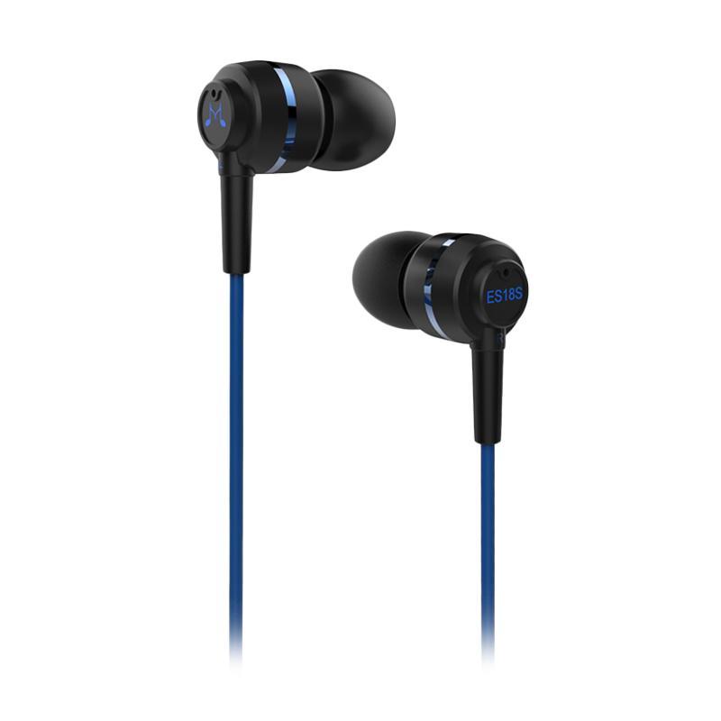 harga SoundMAGIC ES18S In Ear Earphone - Blue Blibli.com