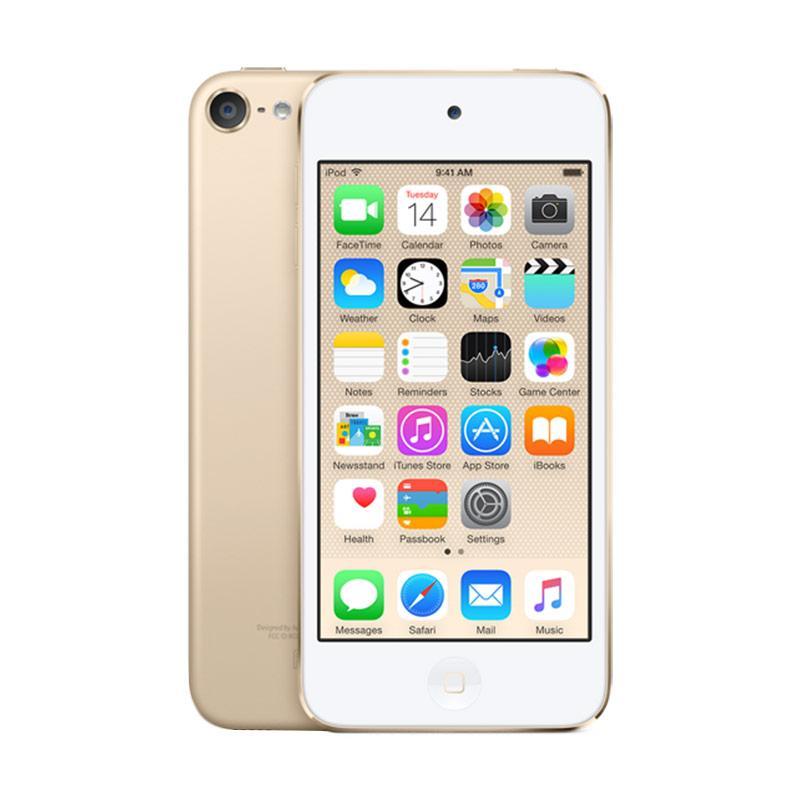 harga Apple iPod Touch 6 64 GB Portable Player - Gold Blibli.com