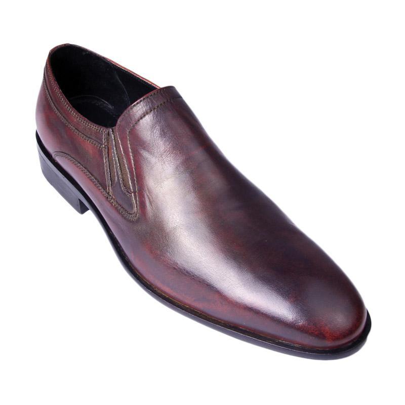 Ftale Footwear Romeo Mens Shoes Sepatu Pria - Maroon