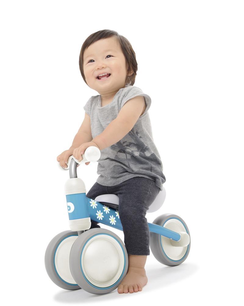 harga IDES D-Bike Mini Sepeda Training Roda Tiga - Biru Blibli.com