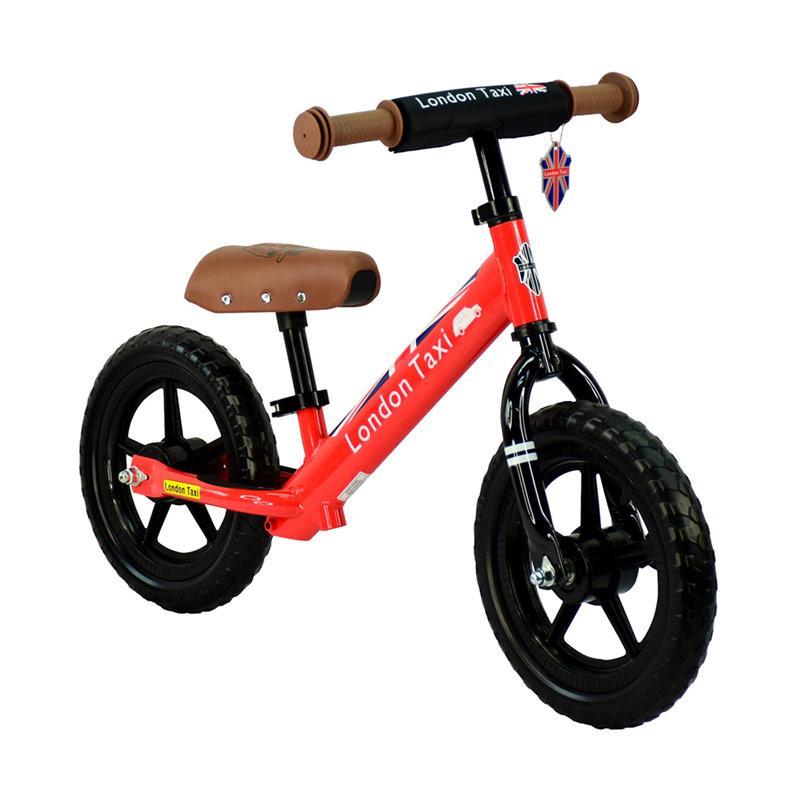 London Taxi Kickbike Sepeda Anak Red