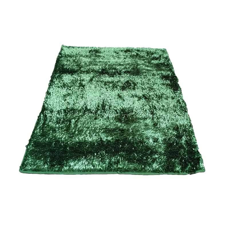 Tren-D-rugs - Karpet Cendol Mengkilat - Hijau [150 x 200 cm]