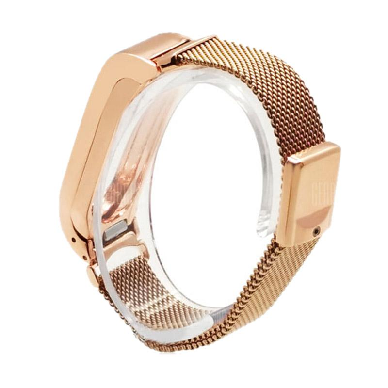 LOLLYPOP Milanese Braclet for Xiaomi Mi Band 2 - Rose Gold