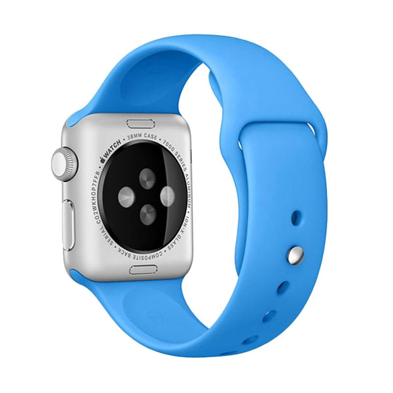 LOLLYPOP Strap Sports Band for Apple Watch 42mm - Baby Blue