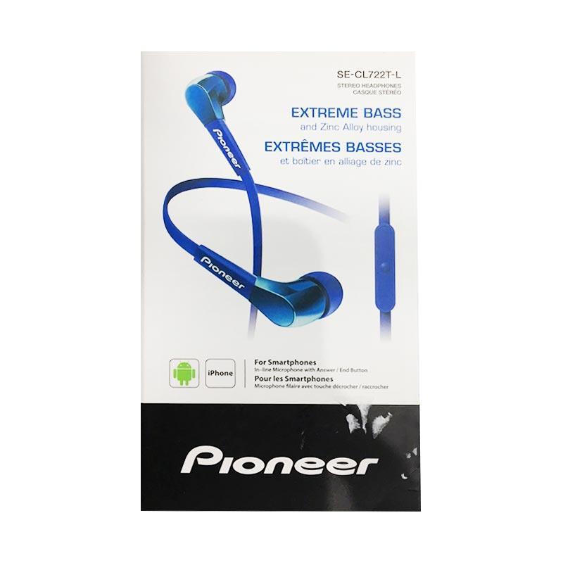 Pioneer CL722T Stereo in Ear Headset - Blue