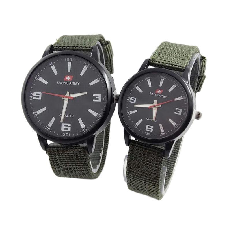 Jual New Swiss Army SA3552 Jam Tangan Couple 831012 Online - Harga    Kualitas Terjamin  349240754c