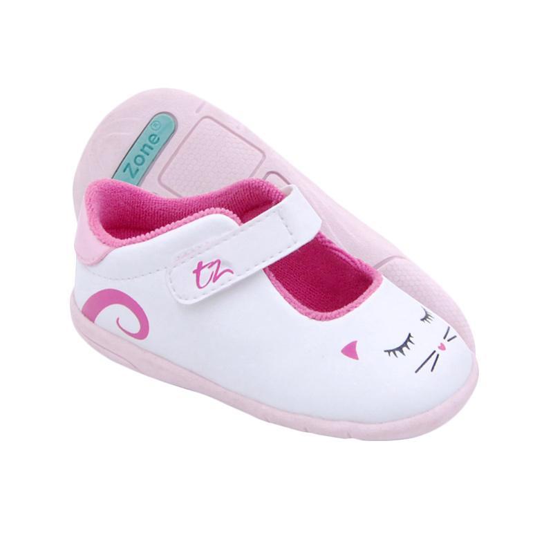 Toezone Kids Emma Fs Sepatu Anak - White Pink
