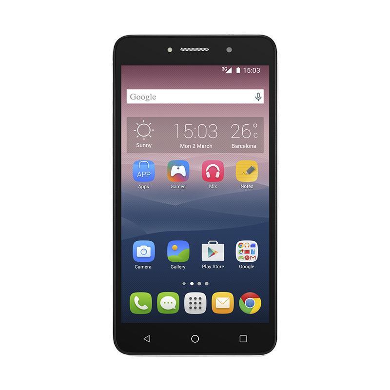Alcatel Pixi 4 8050D Smartphone - Silver [8 GB/1 GB/6 Inch]