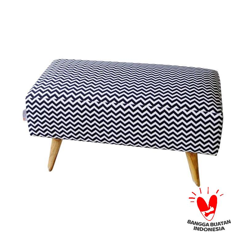 Ayoyoo Black Mini Chevron Double Seat