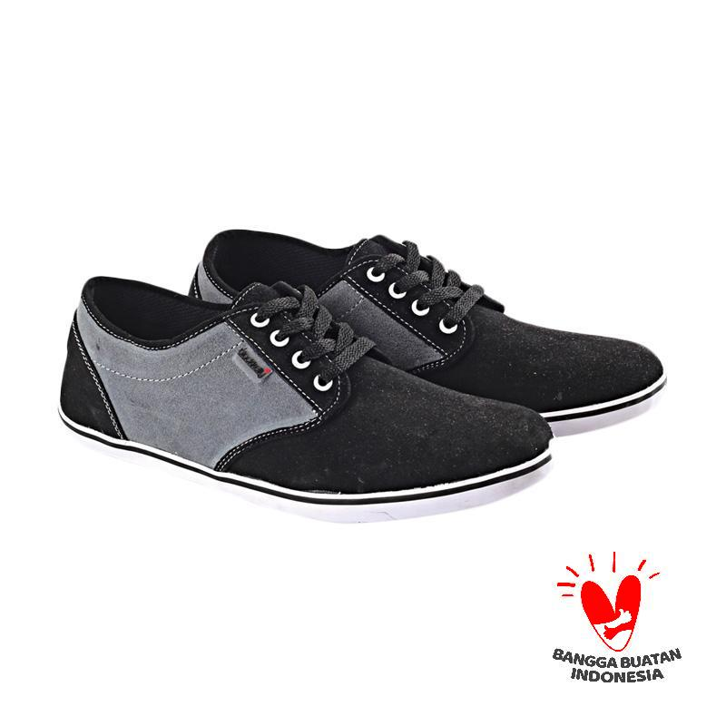 Blackkelly LFM 231 Wild Ace Sneakers Pria - Black