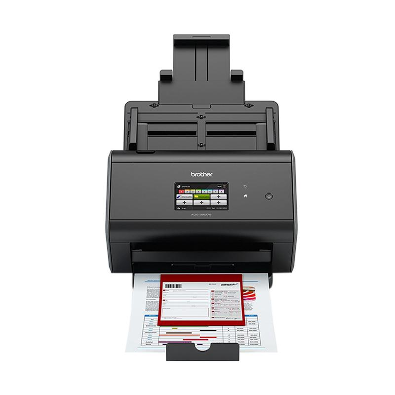 Brother ADS-2800W Document Scanner - Hitam