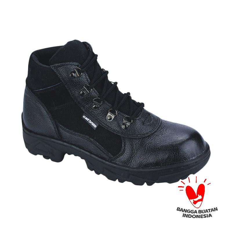 Catenzo DM 102 Safety Sepatu Boots Pria - Black