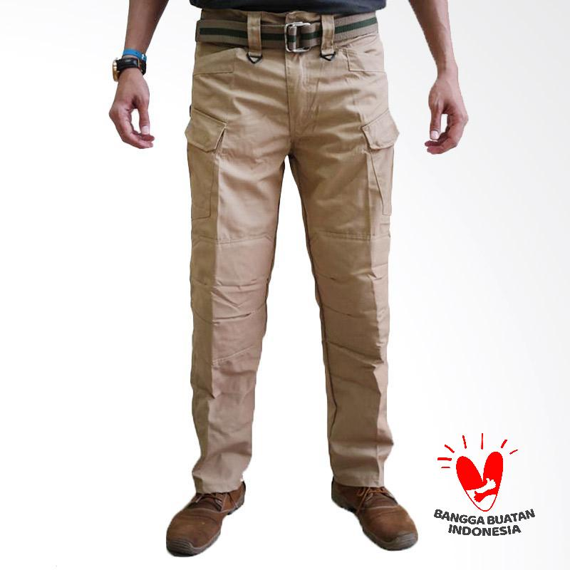 Tactical Black Hawk Celana Panjang Pria - Cream