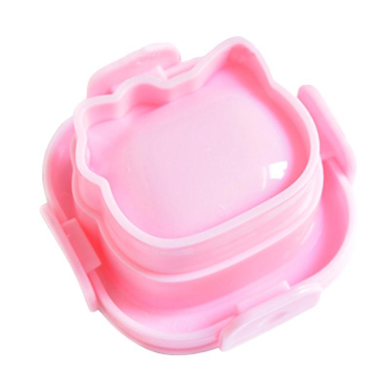 Hello Kitty Head Cetakan Nasi - Pink