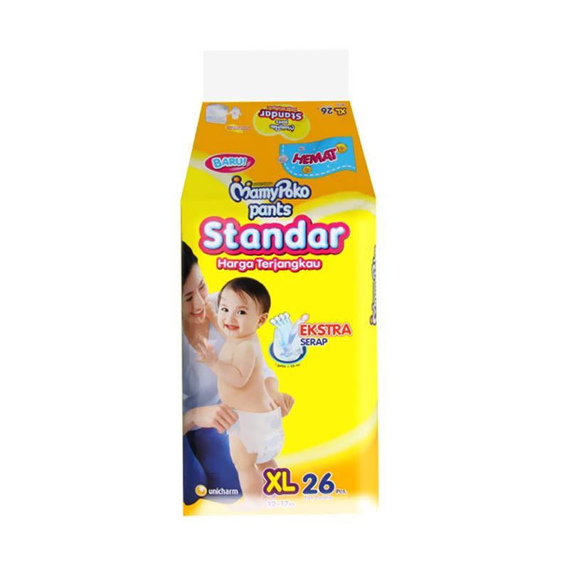 MamyPoko Standar Popok Pants [Size XL/26 Pcs]