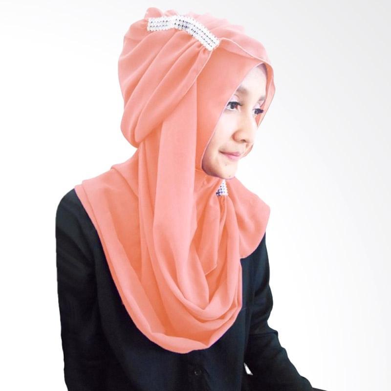 Milyarda Hijab Ring Kerudung - Peach