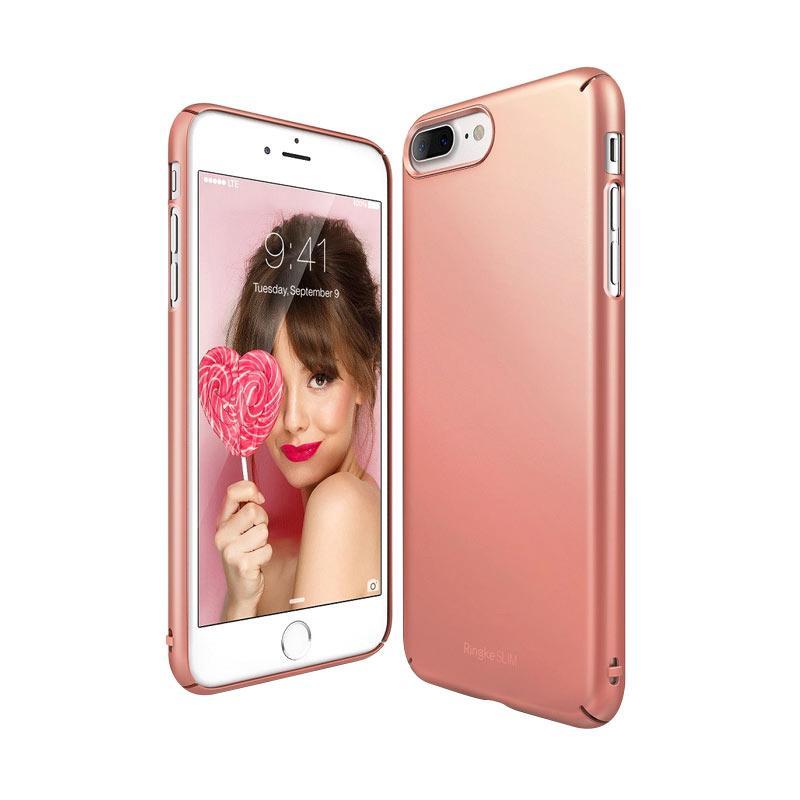 Ringke Slim Casing for iPhone 7 Plus - Rose Gold
