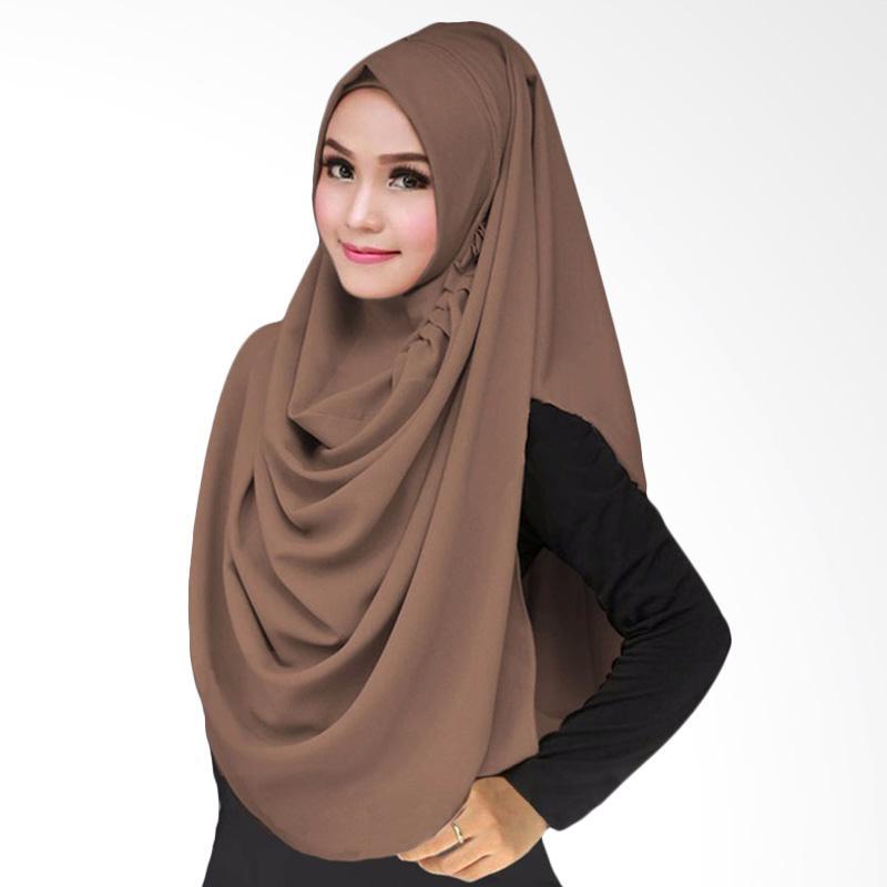 Kus Group LCB Hijab Instant - Coklat