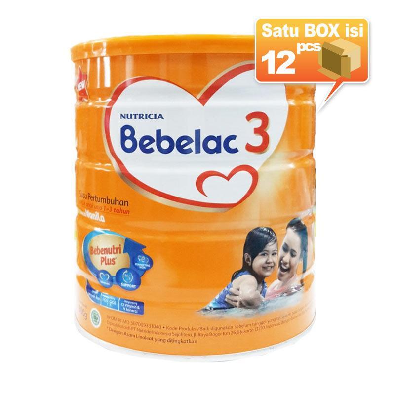 Bebelac 3 Vanila Susu Formula [800g/12 pcs/Karton]