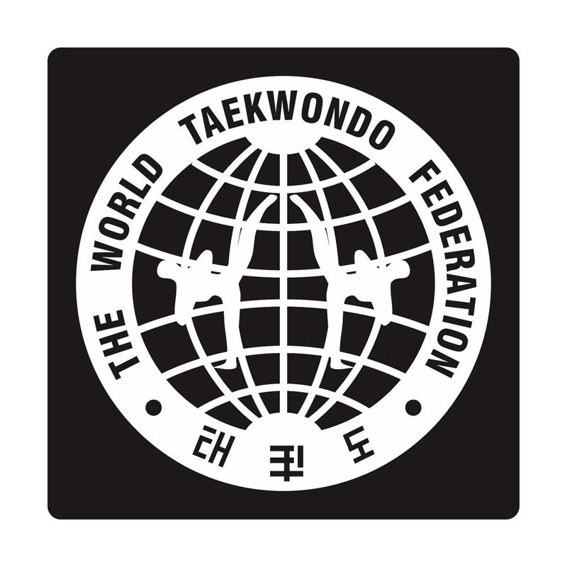 Kyle The World Of Taekwondo Cutting Sticker