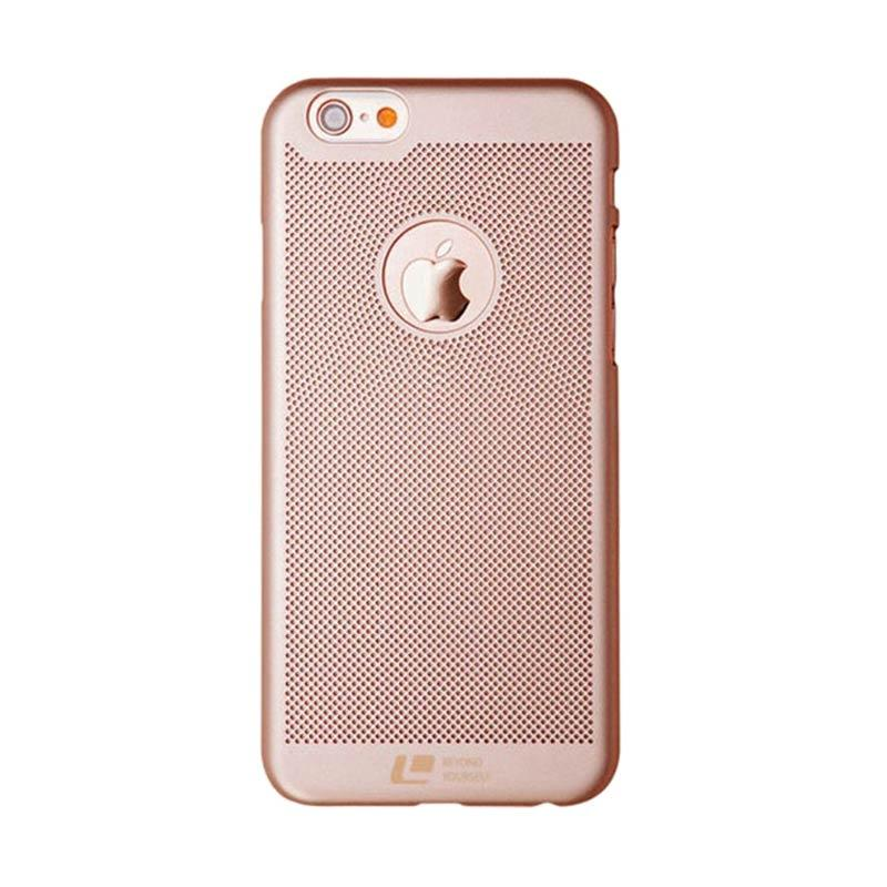 Loopee Woven Casing for iPhone 7 - Rose Gold