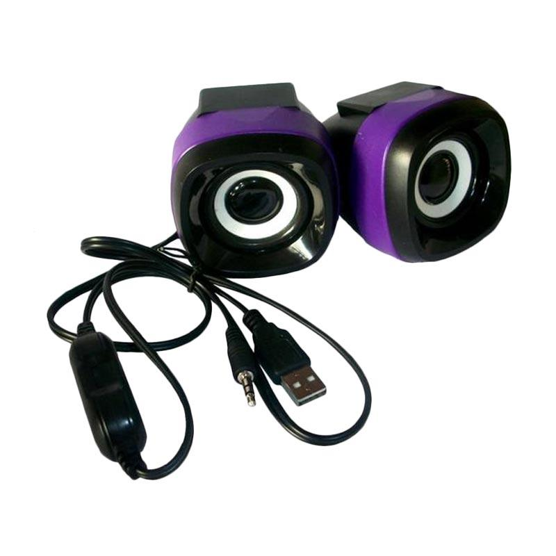 Advance Duo-040 Speaker Komputer USB - Ungu