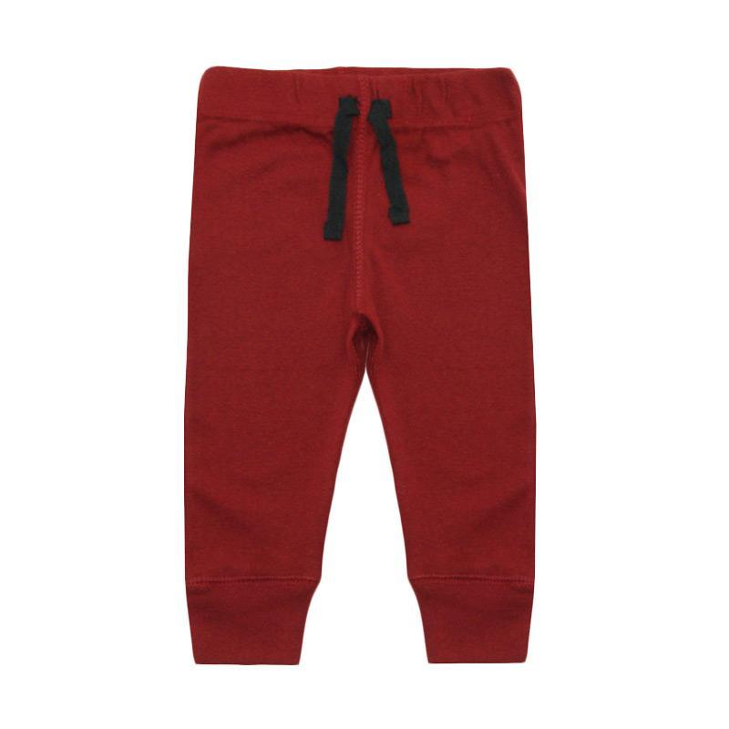 Bearhug Polos Legging Bayi Laki-laki - Merah