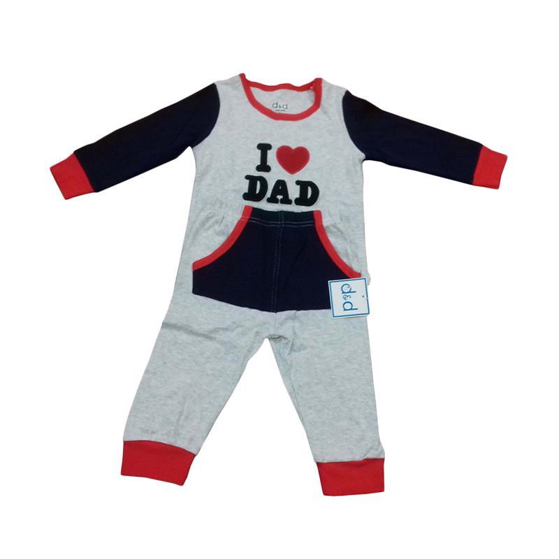 Chloebaby Shop F929 I Love Dad Piyama Baju Tidur
