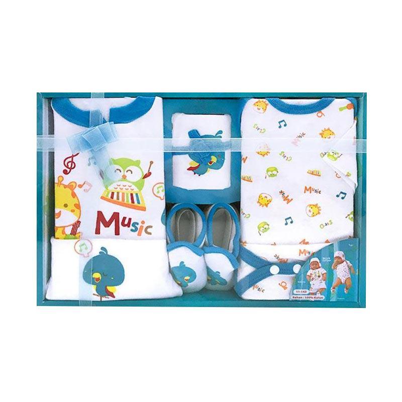 Kiddy Baby KD11143 Gift Set Pakaian Bayi - Biru