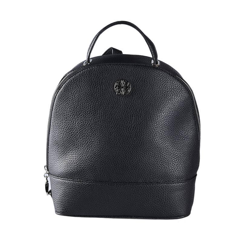 Les Catino Pebbles Backpack Wanita - Black
